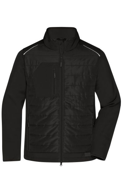 Men's Hybrid Jacket - Softshelljacke im attraktiven Materialmix