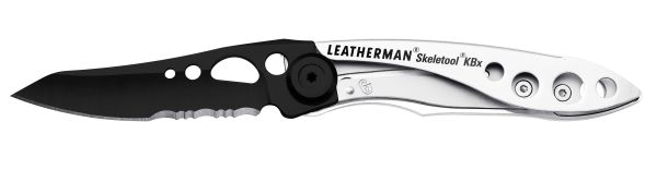 Leatherman SKELETOOL® KBX BLACK SILVER - geöffnet