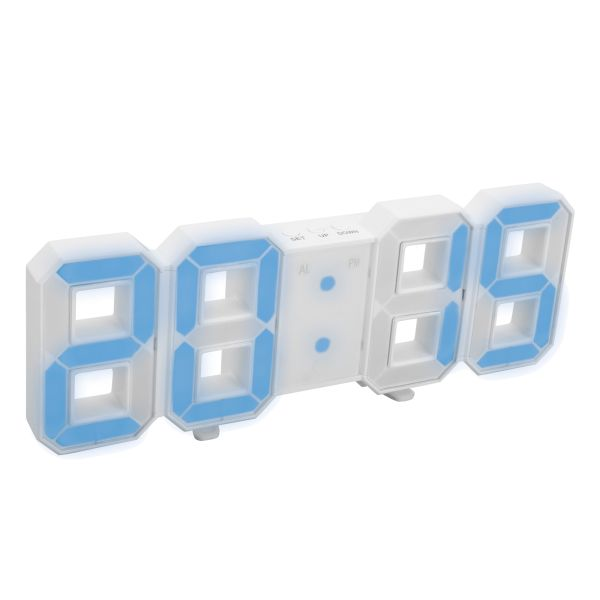LED Digitaluhr REFLECTS-GHOST