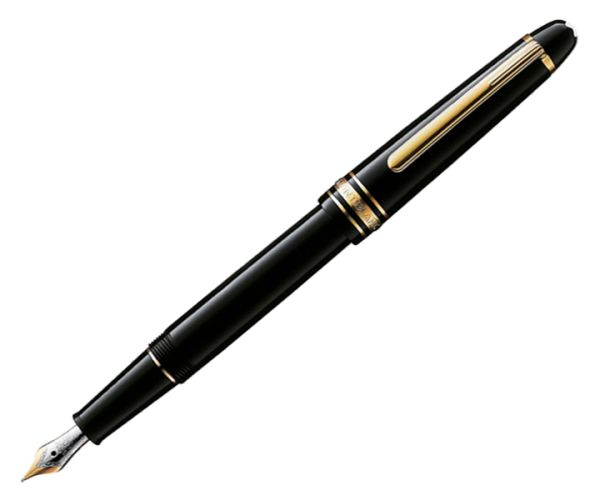 Montblanc Corporate Gifts: Meisterstück Classique Gold-Coated Füllfederhalter